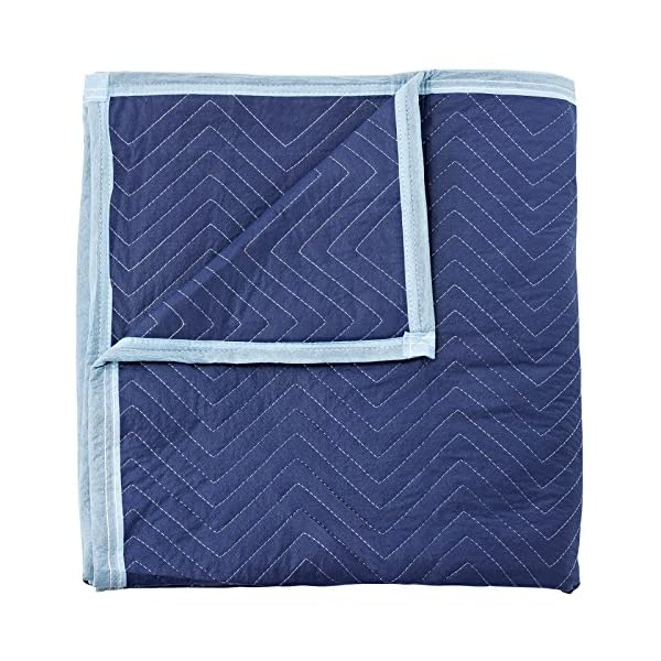 80 x 72 Sure-Max 10 Moving /& Packing Blankets Deluxe Pro 40 lb//dz Weight - Professional Quilted Shipping Furniture Pads Royal Blue