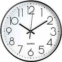 Tebery 30 cm Reloj de Pared sin Tic