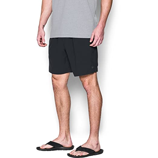 4614afb3a4 Under Armour Men's UA Coastal Short, Black (004)/Rhino Gray, Medium