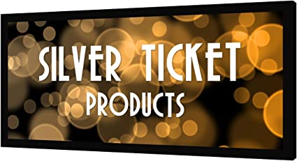 Silver Ticket Projector Screen - Best For Silver Material