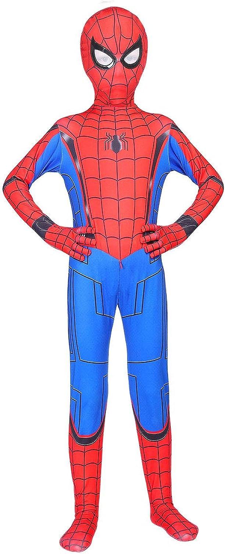 lkjhgf Kids Superhero Suits Halloween Cosplay Costumes 3D Style