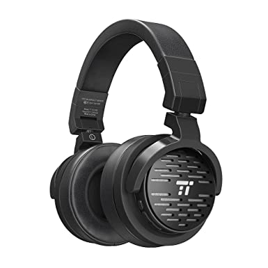 TaoTronics Bluetooth auriculares con 50 mm large-aperture conductores, graves profundos, almohadillas de