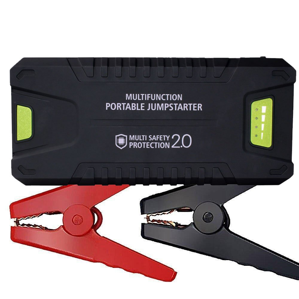 1000A Peak 20000mAh 12V Portable Car Jump Starter (All Gas or 8.0L Diesel) Power Bank with Dual USB 3.0 Smart Quick Charging Port, Battery Booster with LED Flashlight by Tureal (20,000mAh)