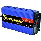 Onduleur 1200 2500W convertisseur de tension 12V 230V onde sinusoïdale modifiée LCD
