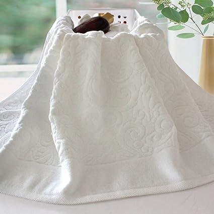[gruesas toallas blancas]/Adultos baño suave y absorbente toallas algodónToallas Hotel de algodón