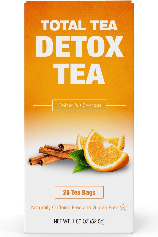 Total Tea Gentle Detox Tea - 25 Herbal Teabags by Total Tea