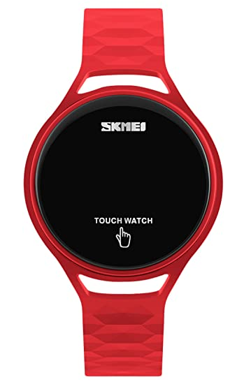 4e359fd4ba40 Skmei táctil reloj LED Digital electrónico luminoso deportivo muñeca relojes   Amazon.es  Relojes