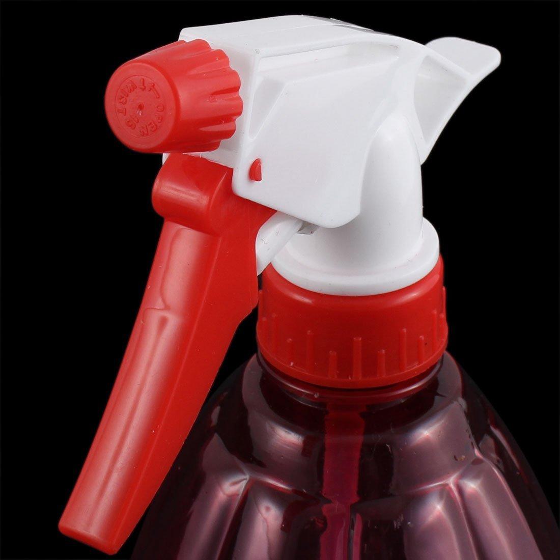 Amazon.com: eDealMax plástico Herramienta Anterior del salón de Pelo plantas de agua del rociador Botella de Spray 530 ml Rojo: Health & Personal Care