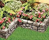 Dalen Gardeneer Stonewall Border - Grey, 10 ft.