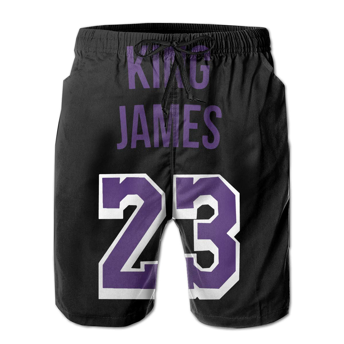 James King James Nickname Mens Quick Dry Swim Trunks Beach Shorts Board Shorts