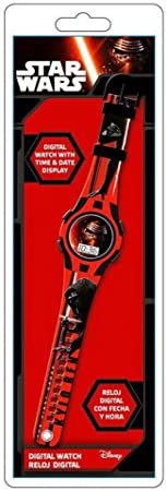 Reloj Star Wars Episodio VII digital sport Kylo Ren