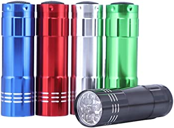 5-Pack LED Super Bright Flashlights
