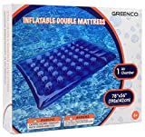 Greenco Giant Inflatable Double Mattress Pool