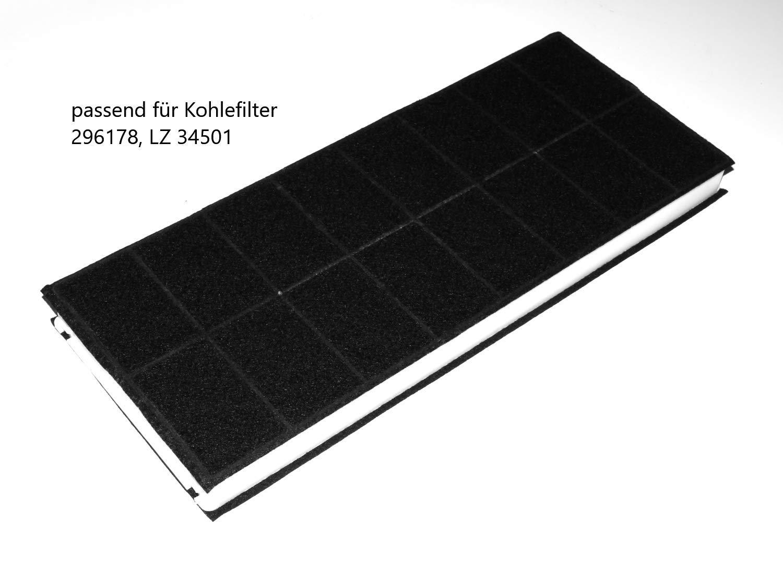 Carbon filter für dunstabzugshaube fan mm amazon
