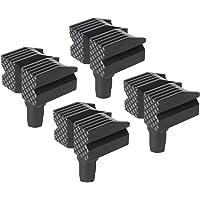 Silverline 548885 werkstukkussens, 4-pack, zwart, 4-delig