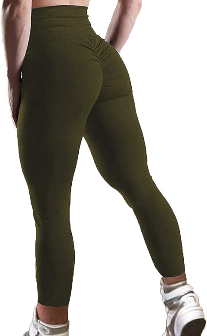 Amazon.com: Fittoo - Leggings de talle alto para mujer ...