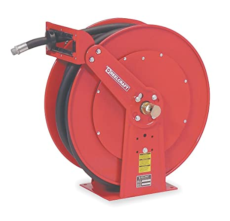 Fuel Hose Included 250 Psi 3//4 x 25 Reelcraft F7925 OLP Spring Retractable Fuel Hose Reel