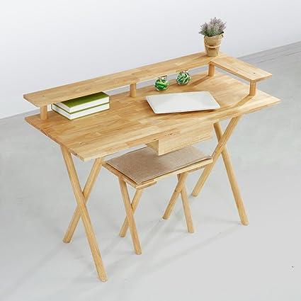 Attrayant Modern Minimalist Computer Table Nordic Wood Bedroom Study Desktop Computer  Desk Household Student Study Desk (
