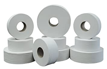 green heritage 800 9 diameter x 342 width 2 ply jumbo roll - Bathroom Tissue