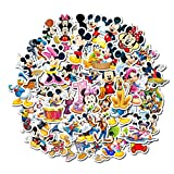 Ratgoo 50 Pcs Vinyl Stickers of Cartoon Comic Mickey Mouse to Baby Toddler Infant Kids Teens Boys Adult for Laptop Water Bottle Computer Mac Pad Phone Case Hydro Flask Car Helmet Luggage Case Desk