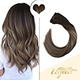 Ugeat 14 Inch Full Head Clip in Hair Extensions