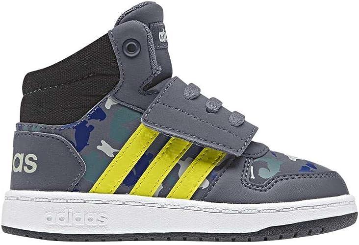 adidas Hoops Mid 2.0, Sneakers Basses Mixte bébé: