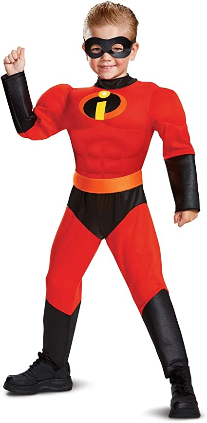 Muscle Dash Classic CHILD Costume NEW Incredibles 2