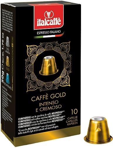Italcaffè Espresso Gold - 120 cápsulas de café para cafetera ...