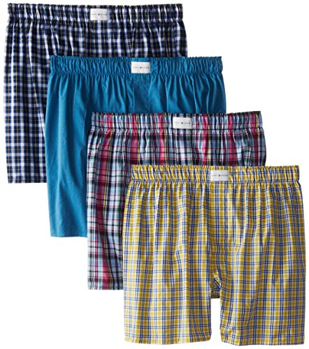 Tommy Hilfiger Four Pack Blues Woven