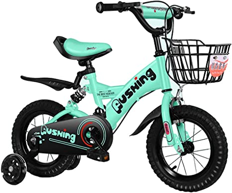 GPAN Bicicleta Infantil para niños y niñas de 3-8 años,con Freno ...