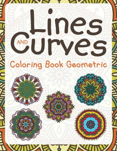 Lines Curves Coloring Book Geometric