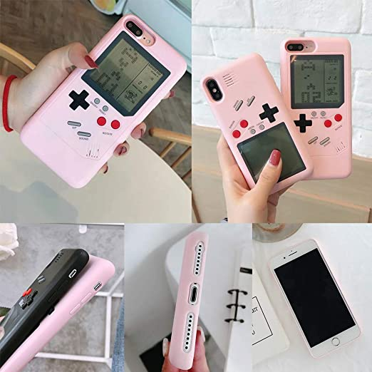 Amazon.com: SIKSIN Gameboy - Funda para iPhone 7, 8, 6p, 7p ...