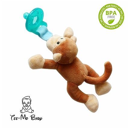 Silicona jirafa Chupete, gefüllte Animales Binky, suave Baby de ...