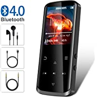 $29 Get Mp3 Player,8GB Mp3 Player with Bluetooth,Built-in Speaker,Portable HiFi Lossless Sound Music…