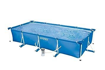 Intex 322983 Pool Rechteckig Pumpe Fil 1000 L 450 X 220 X 84 Cm