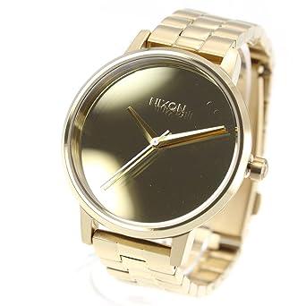 4fc35804fa [ニクソン]NIXON ケンジントン KENSINGTON 腕時計 レディース ライトゴールド/ミラー NA0992764-00 [