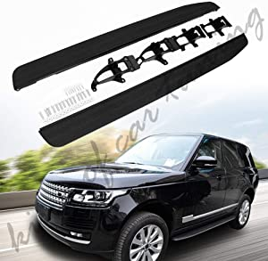 king of car tuning Aluminium Running Boards Side Steps Nerf Bars Fits for Land Rover Range Rover Sport 2014 2015 2016 2017 2018 2019