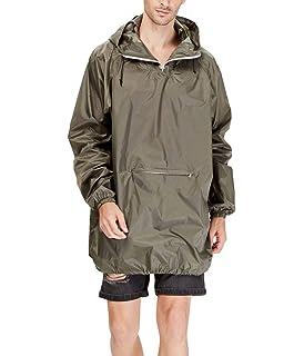 Amazon.com: 4ucycling Raincoat Easy Carry Wind Rain Jacket ...