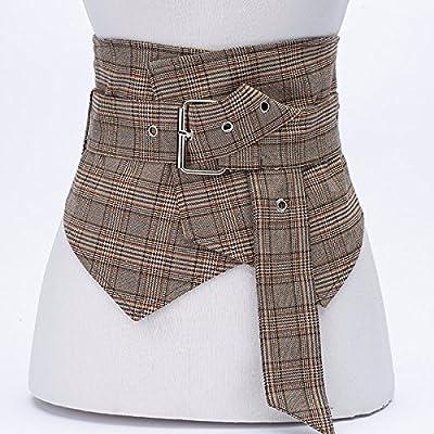 2018 printemps et en été la tendance de mode ceinture rayée large ceinture décorative robe ceinture deux pièces