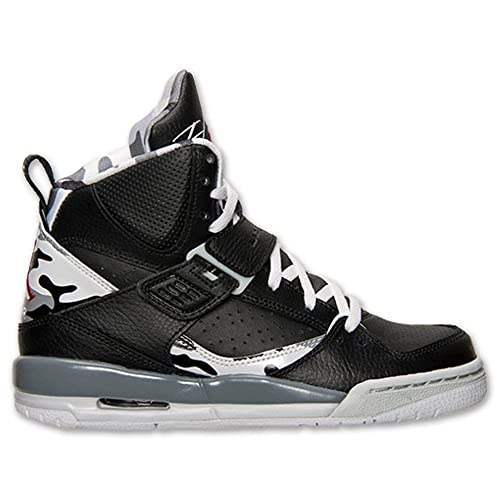 info for a6f15 e747a Nike Jordan Flight 45 High Max Boys  Grade School Basketball Shoes  524865-022 Size 7Y Black White  Amazon.ca  Shoes   Handbags