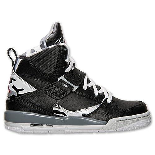 e2c6f3dd8d7 Nike Jordan Flight 45 High Max Boys' Grade School Basketball Shoes  524865-022 Size 7Y Black White: Amazon.ca: Shoes & Handbags