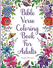 Bible Verse Coloring Book For Adults: Scripture Verses To Inspire As You Color