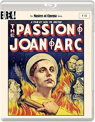 The Passion Of Joan Of Arc (1928) (Masters of Cinema) Dual Format (Blu-ray & DVD) edition (The Passion Of Joan Of Arc 1928)