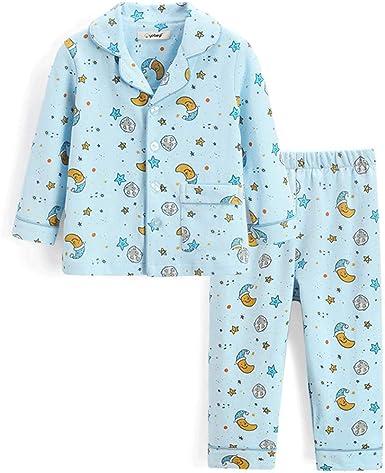 Lilongjiao Pijamas para niños Ropa de algodón para niños Pijamas ...