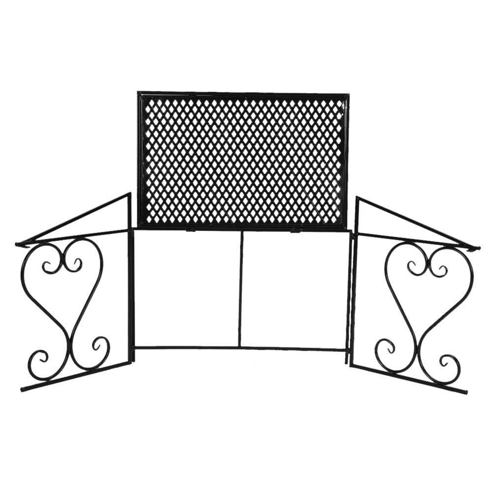 Nero Cocoarm Scaffale in Metallo per Forno a Microonde