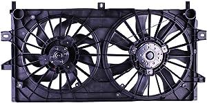 Tong Yang FAN-CV66018A Replacement Radiator/Condenser Cooling Fan Assembly 06'-08' CV Impala/Monte Carlo 3.5/3.9L(FAN-CV66018A)