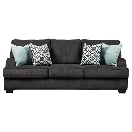 Amazon.com: Benchcraft - Charenton Contemporary Sofa Sleeper - Queen ...
