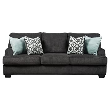 Benchcraft - Charenton Contemporary Upholstered Sofa - Charcoal Grey