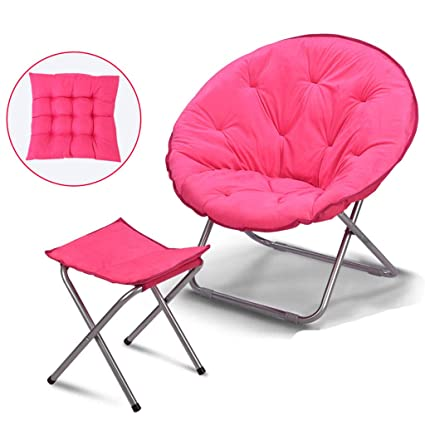 Amazon.com: Moon Chair Adult Recliner Folding Chair Living ...
