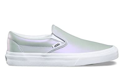 7c5a0ce7a04b Vans Classic Slip-On (Muted Metallic) Gray Violet Size  10.5 Women ...